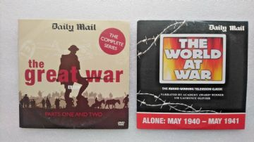 The Great War / The  World at War DVDs Originally Released  by the Daily Mail